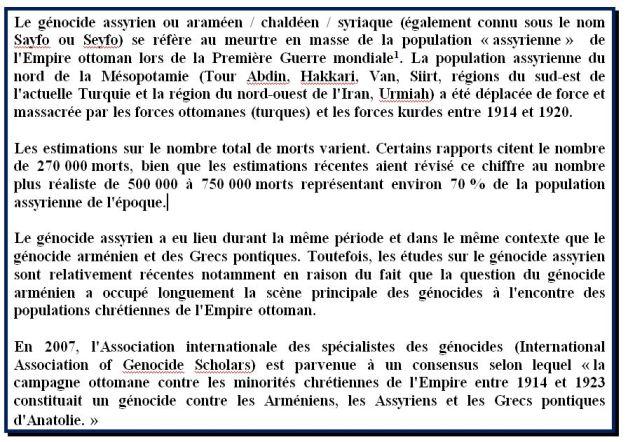 ASSYRIENS